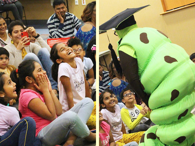 THE Bookworm visits Valley Ranch Public Library
